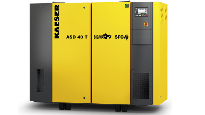 ASD 40 SFC rotary screw compressor