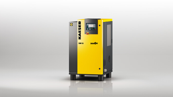 Kaeser SM series rotary screw compressor