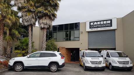 KAESER New Zealand Head Office in Auckland