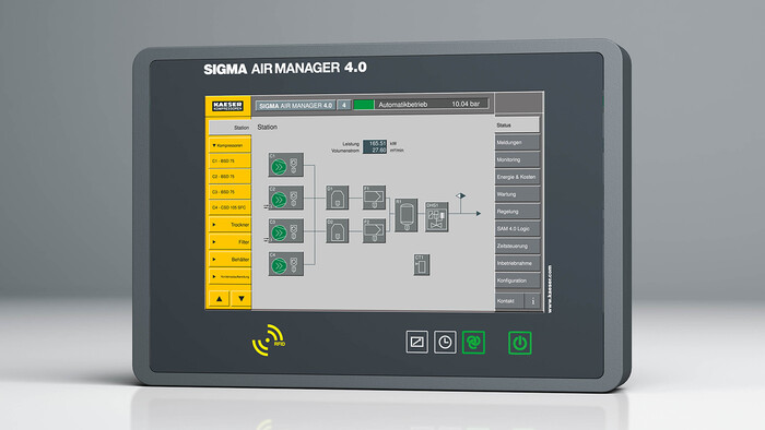 Sigma Air Manager 4.0 from Kaeser Compressors