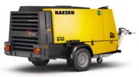 M125 road-going portable compressor from Kaeser Kompressoren.