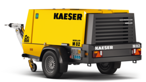 M 82 portable compressor from Kaeser Compressors