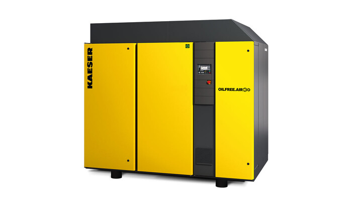Kaeser oil-free rotary screw compressor