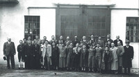Kaeser Kompressoren staff photo from 1937