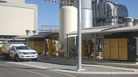 Kaeser oilfree rotary screw compressors at Kwinana Power Station