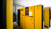 Kaeser CSD series rotary screw compressors at Wilson Transformer Company