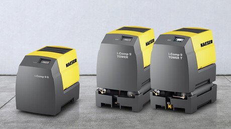 Robust, compact and extremely versatile, the i.Comp 8 / 9 from Kaeser also features an impressive new drive concept.