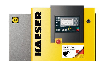 Kaeser Compressors Made in Germany for New Zealand conditions and regulations